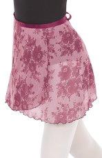 画像1: ユーロタード ヴィンテージローズ ラップスカート (1)