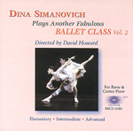 画像1: CD/Dina Simanovich Plays Another Fabulous Ballet Class Vol.2 (1)