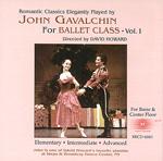 画像1: CD/John Gavalchin for Ballet Class Vol.1 (1)