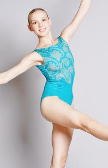 画像1: 新入荷 Ballet  Rosa,バレエローザ SALOME レオタード (1)