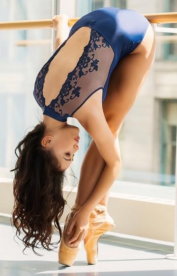画像1: Ballet Rosa,バレエローザ AME'LIE レオタード (1)