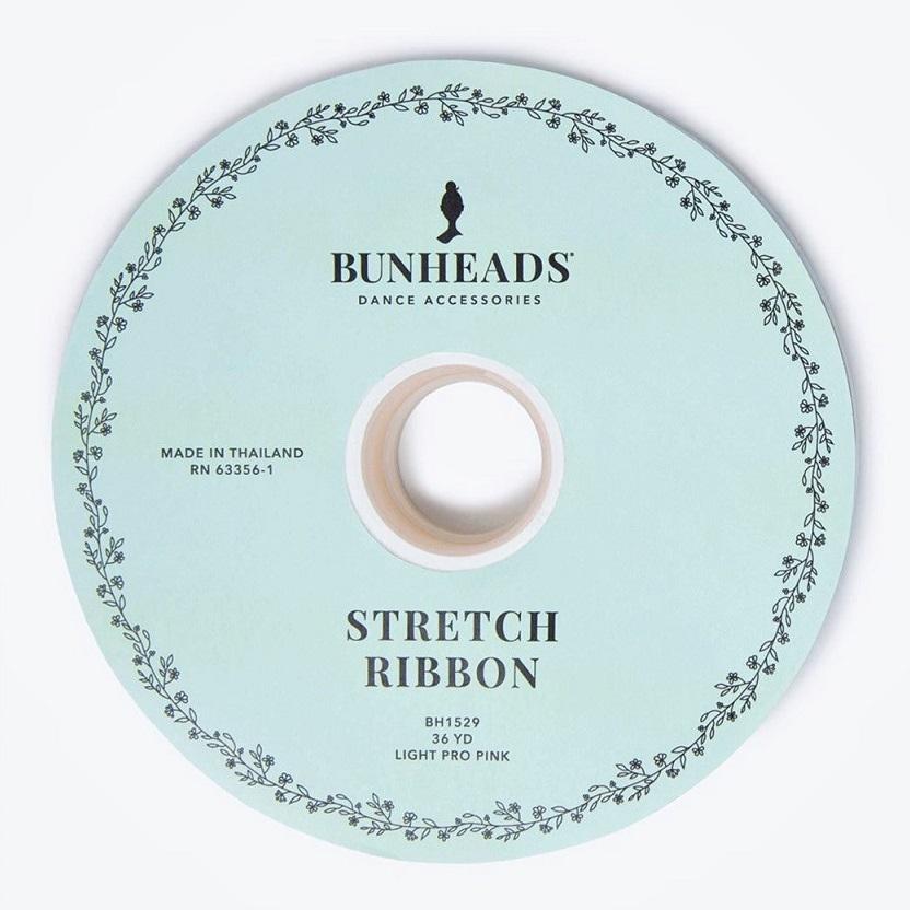 画像1: BUNHEADS バンヘッズ ストレッチリボン(36ヤード巻き) (1)