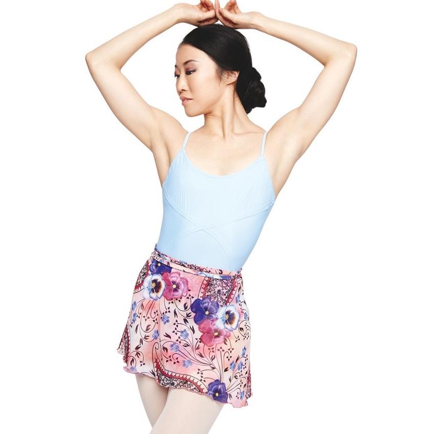 画像1: 廃盤セール カペジオ シフォン巻きスカート (1)