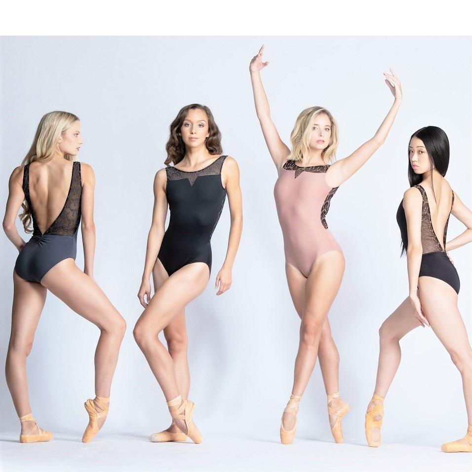 画像1: Ballet Rosa|バレエローザ ANTONIA レオタード (1)