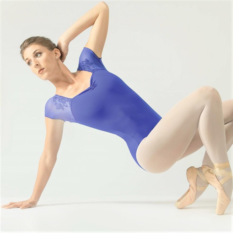 画像1: Ballet Rosa|バレエローザ JUSTINE レオタード (1)