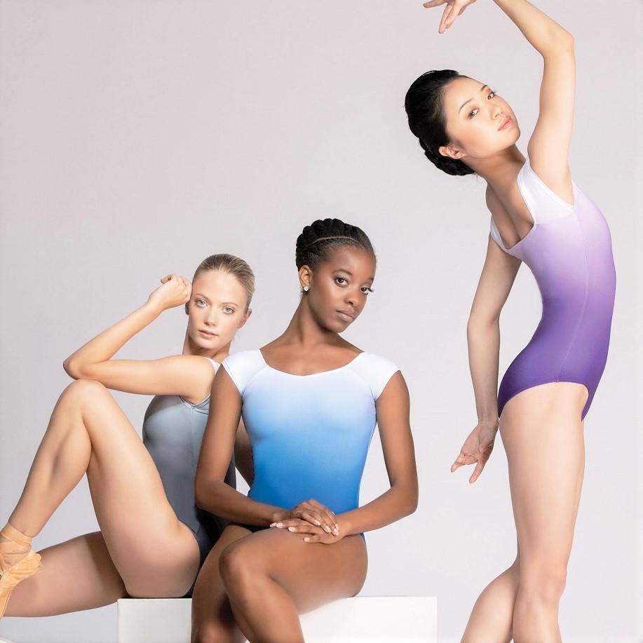 画像1: Ballet Rosa バレエローザ SOLANGE レオタード (1)
