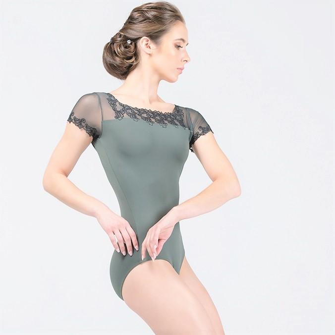 画像1: Ballet Rosa|バレエローザ AURORA レオタード (1)