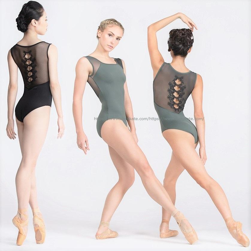 画像1: Ballet Rosa バレエローザ OZANNA レオタード (1)