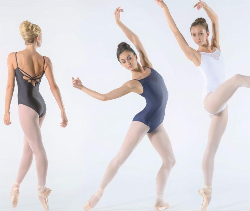 画像1: Ballet Rosa,バレエローザ AURA レオタード (1)